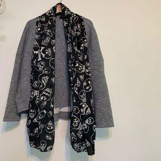 個性款絲巾圍巾