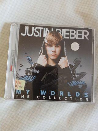 CD Justin Beiber My Worlds