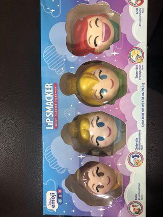 U.S.A Disney emoji lip smacker 美國迪士尼公主系列護唇球❤️❤️