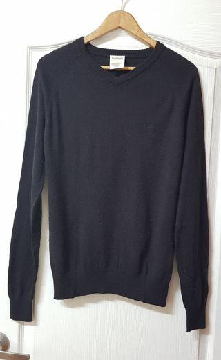 Timberland深咖啡色 純羊毛針織衫