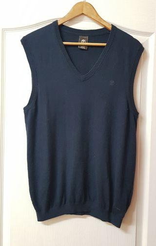 Timberland深藍色針織背心