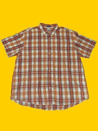 Old navy格紋襯衫