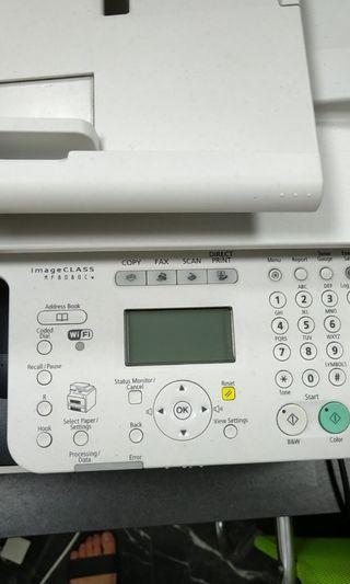 Cannon color laser printer