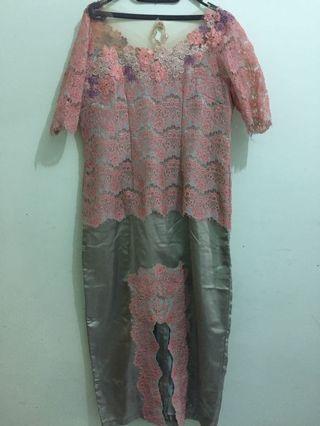 Dress Atasan Brokat