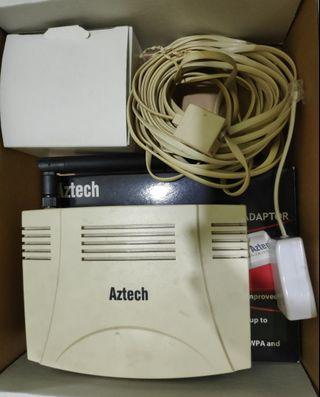 Aztech router, wireless adapter & Wifi modem replacement