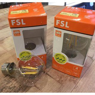 LED Filament 4W Light Bulb