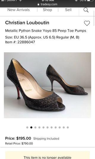86cb5419334 louboutin | Women's Fashion | Carousell Philippines