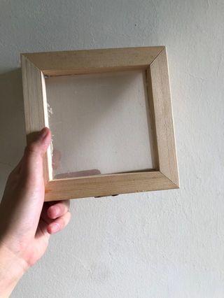 手工造紙框15x15cm 抄紙網