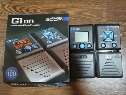 ZOOM G1on Guitar Effects Pedal