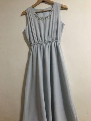 小NG氣質雪紡洋裝