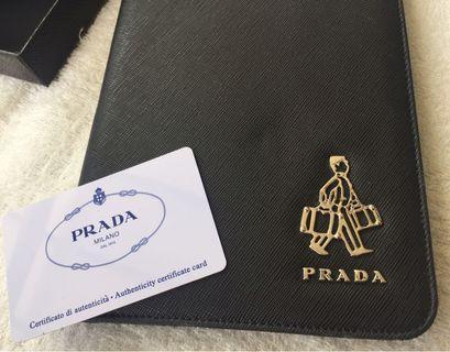 Authentic Prada iPad mini case with box