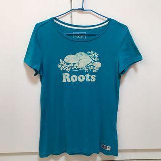 Roots復古logo上衣(女)