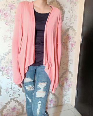 Cardigan Pink Bershka size M