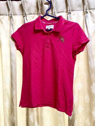 Arnold Palmer桃紅POLO衫