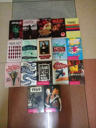 Aneka Novel Terbitan Lejen Press / Various Novels by Lejen Press