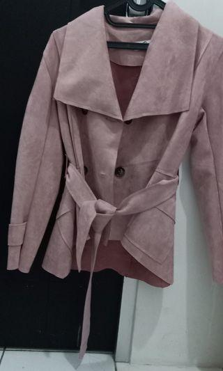 Coat Suede Impor