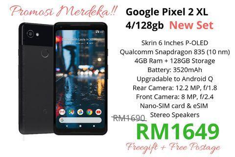 Google Pixel 2XL 128gb New Ori Set