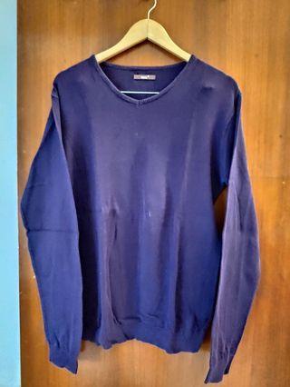Wood Purple Pullover
