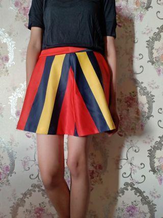 Mini skirt BCBGMaxazria colourfull size S