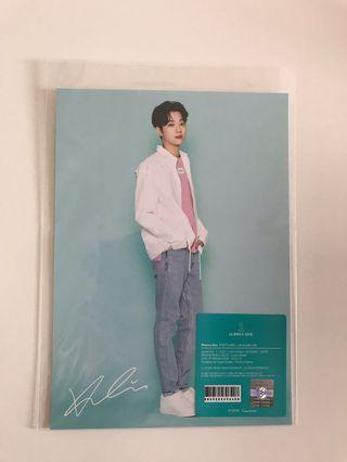 Lai Kuanlin Official Wanna One Pop Up Goods Postcard