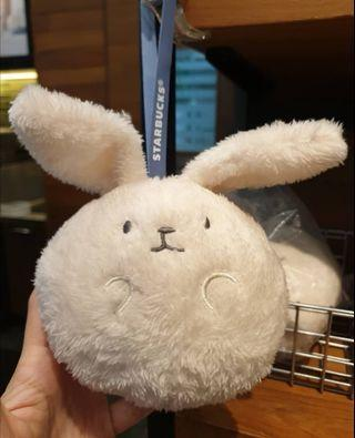 🆕 Starbucks Limited Edition Bunny Face Pouch
