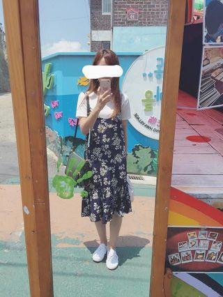 百搭碎花洋裝(韓國購買)