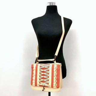 Lolita Kawaii corset music sling bag handbag