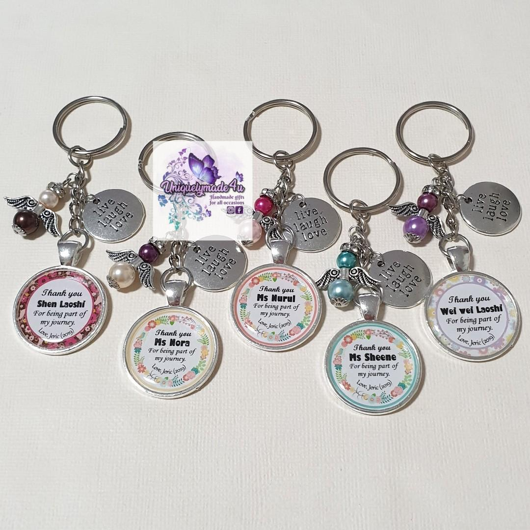 5 pcs Teachers Day Gift Keychain (reserved)