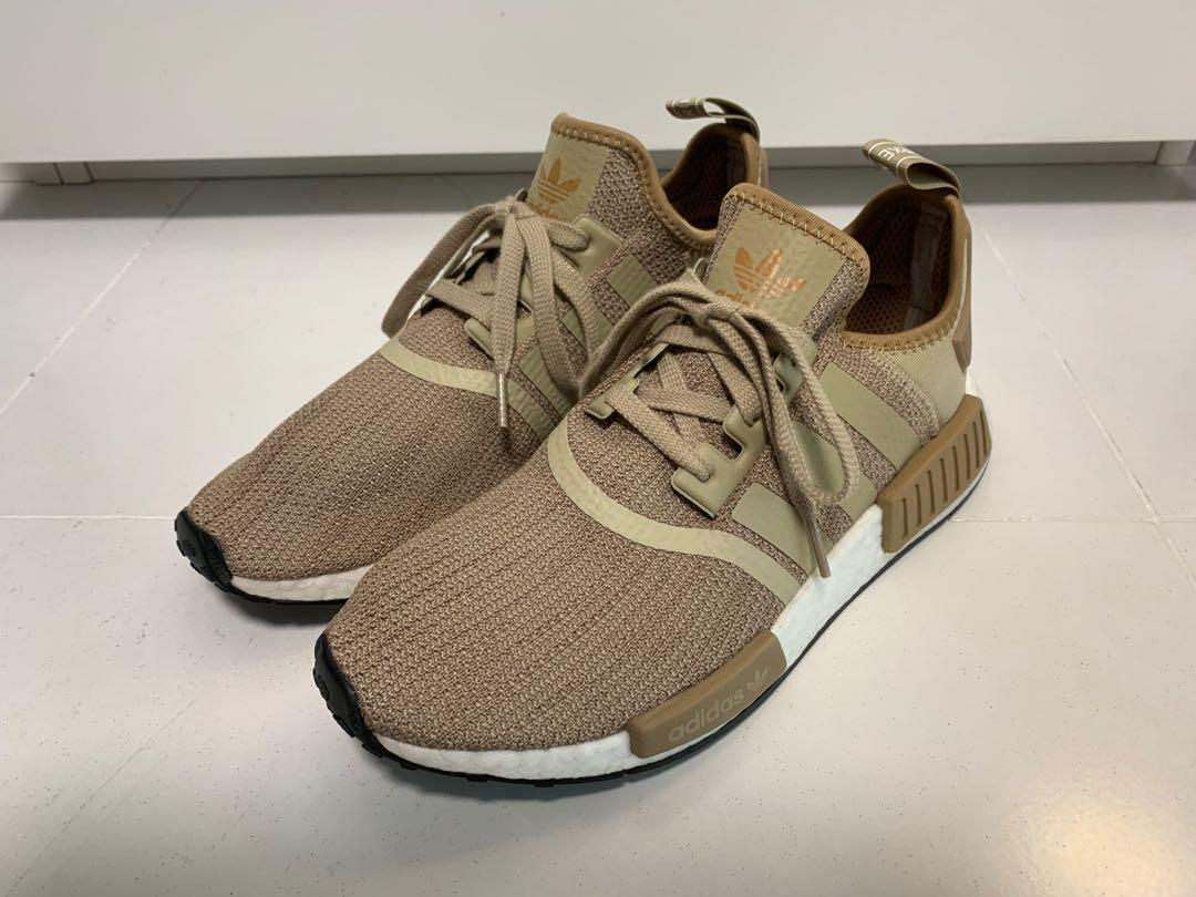 Adidas NMD R1 Raw Gold New with box