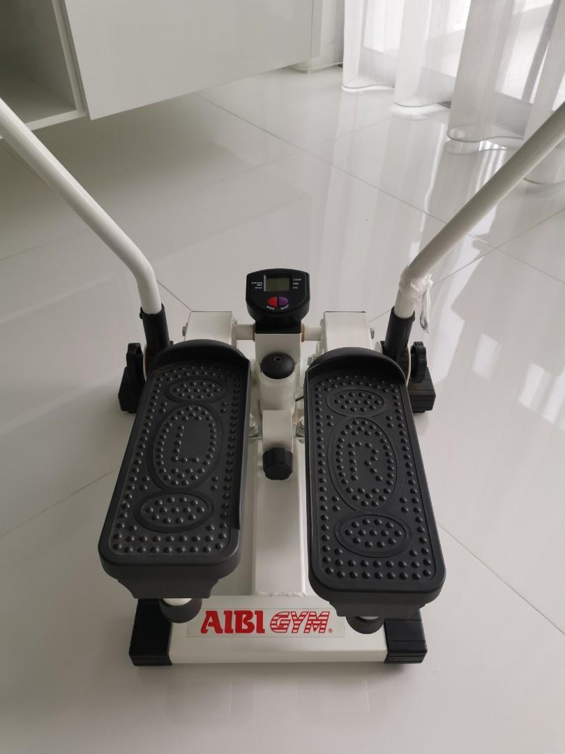 Aibi Indoor Gym Stepper w handles