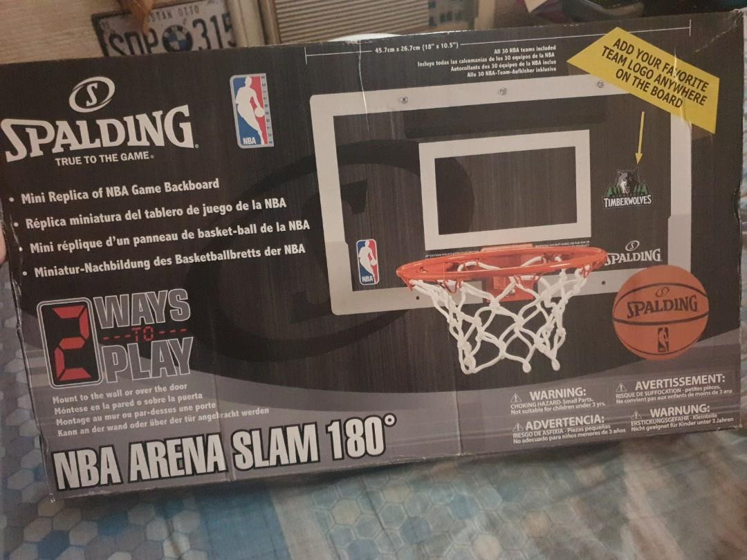 official photos 5e544 4aa95 Basketball Ring Indoor from NBA Store on Carousell