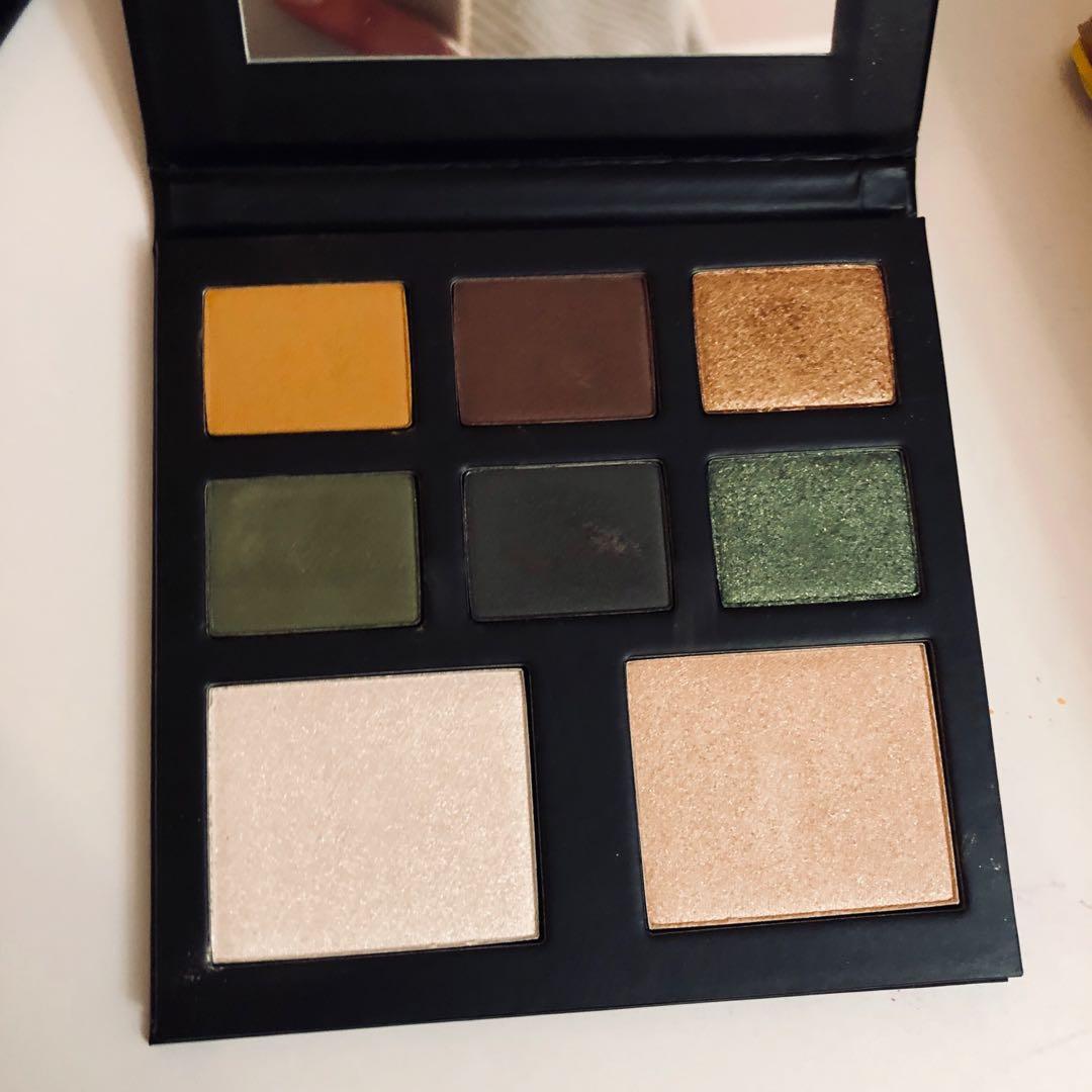 BEAUTY BAY X JORDAN eyeshadow and highlighter palette