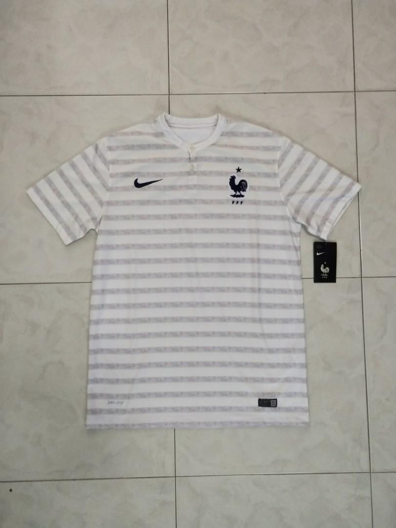 purchase cheap 4fce6 d8a06 BNWT Nike France 2014 World Cup Football Away Jersey, Sports ...