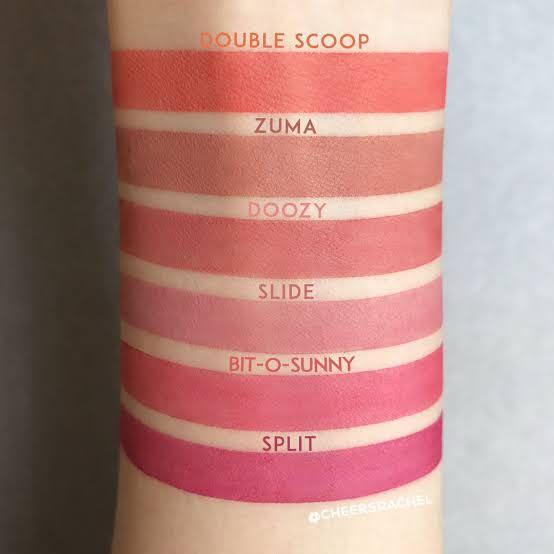 Colourpop Zuma Ultra Blotted Lip matte liquid lipstick makeup