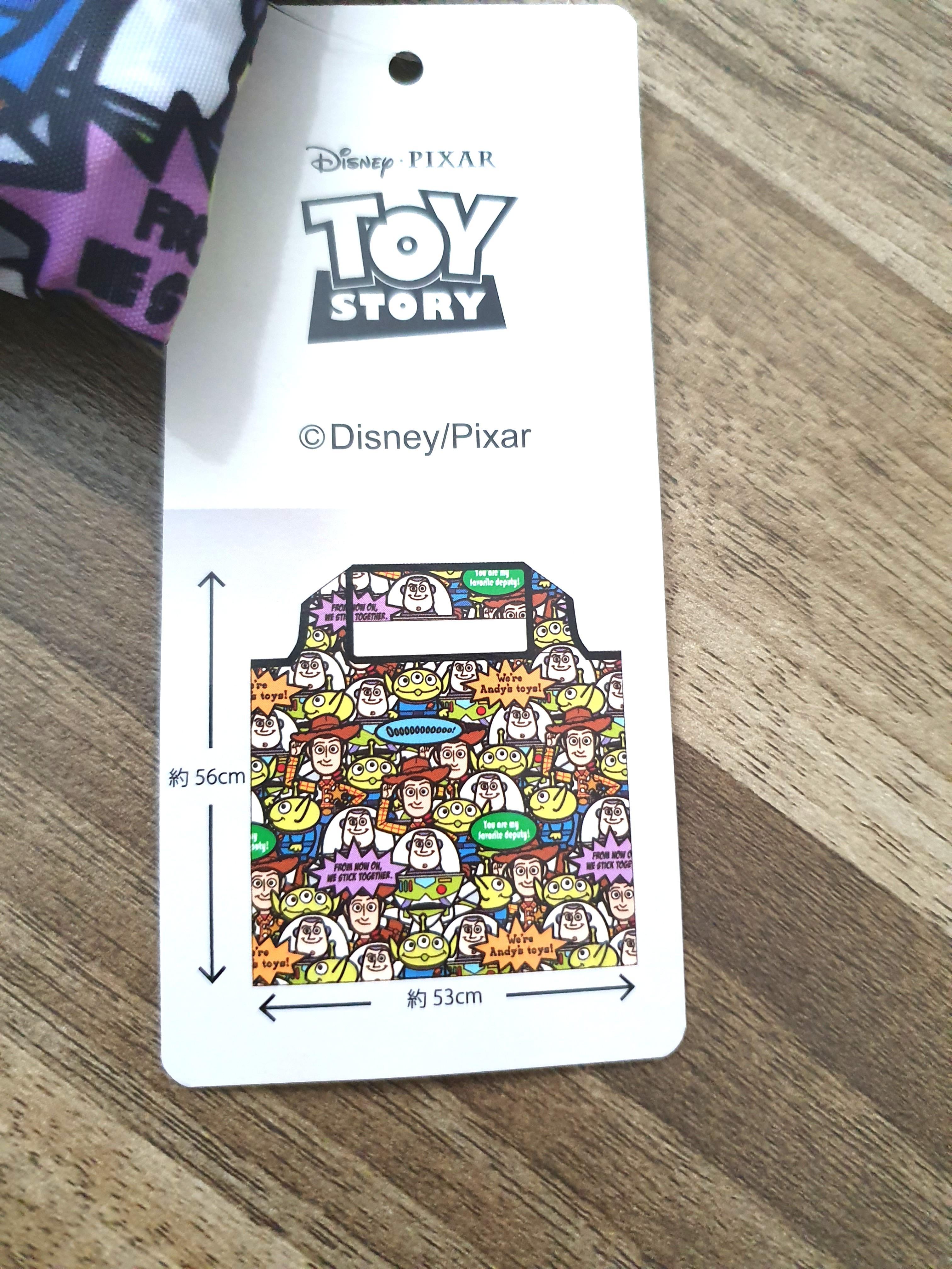 Disney Toy story ecco foldable bag