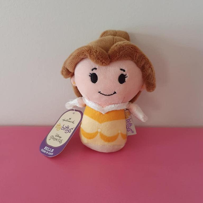 Euc Itty Bittys Disney Princess Belle Beauty and the Beast plush