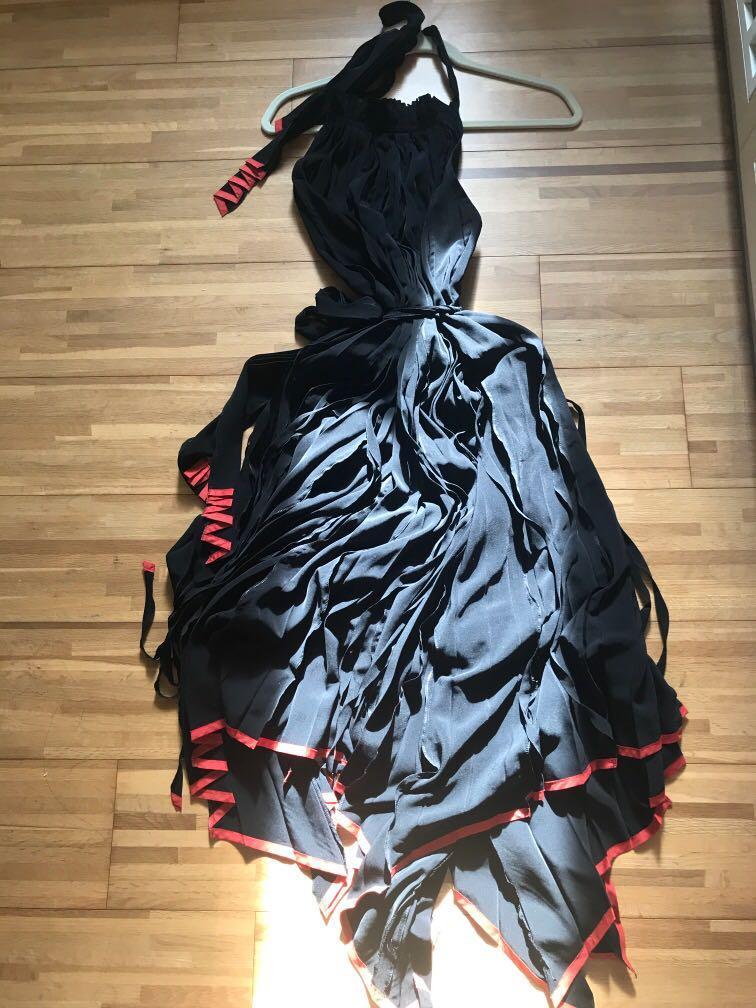 三宅ㄧ生FETE系列黑色造型洋裝
