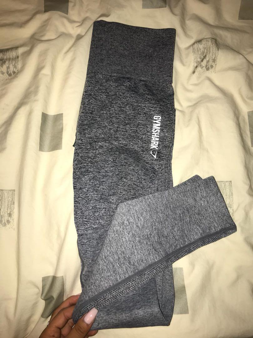 GYMSHARK dry fit grey leggings - size XS