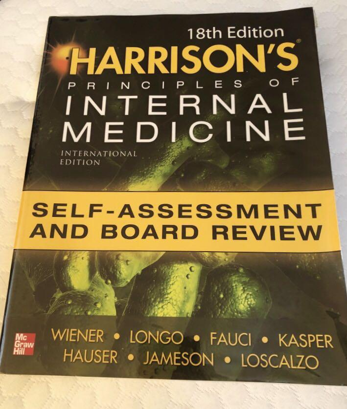 Harrison's Principles of Internal Medicine Self-assessment and Board Review 18th ed.