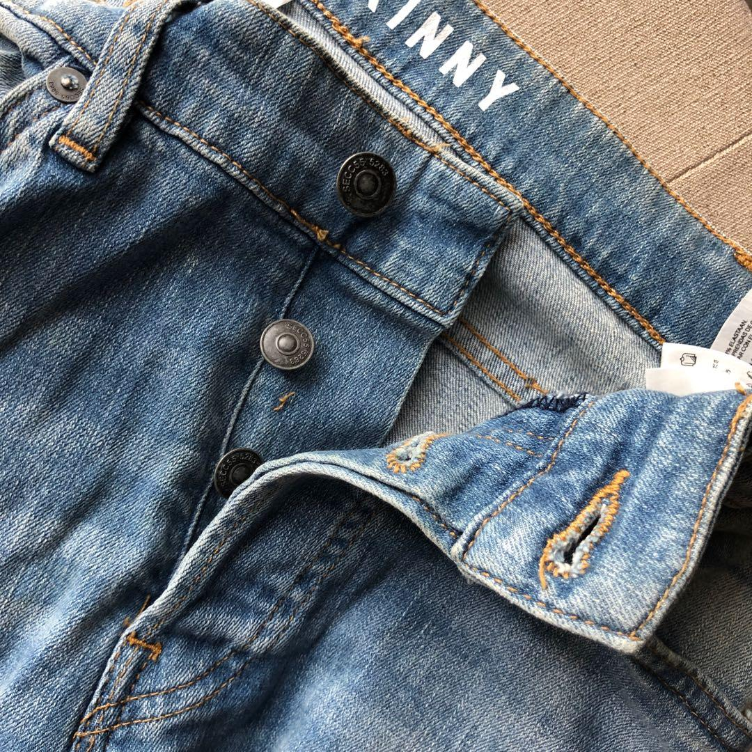H&M HNM ripped jeans