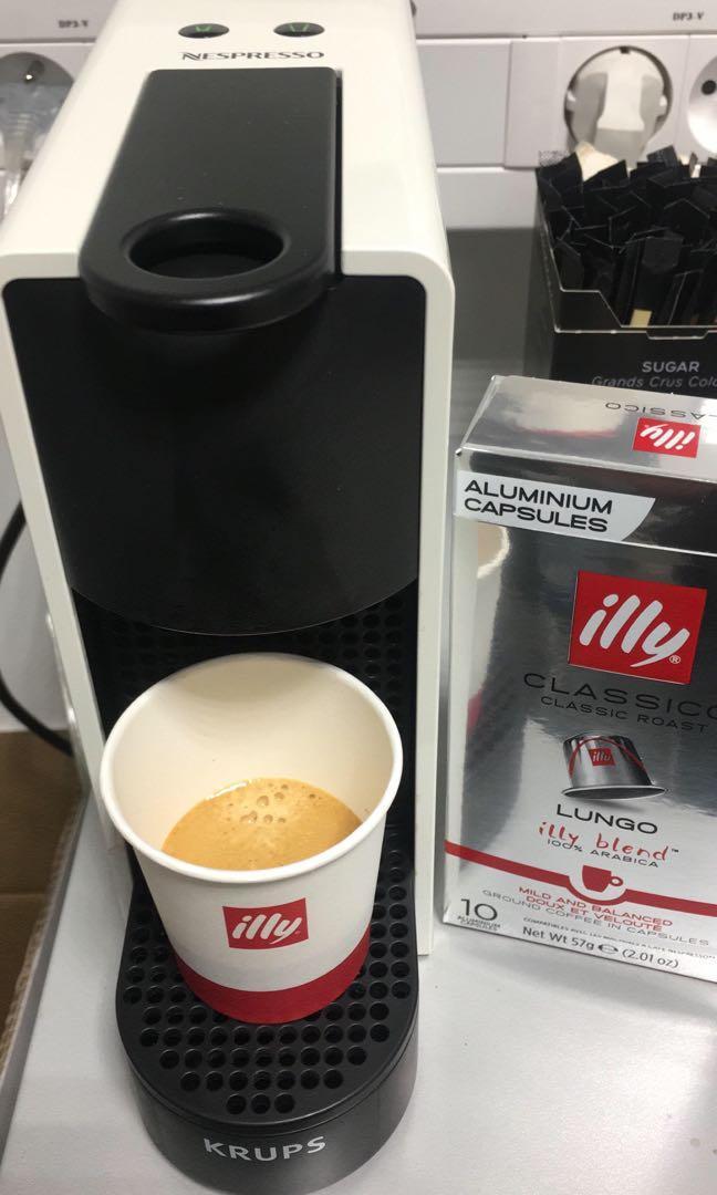 巴黎直送 illy Espresso Forte Aluminium Capsules Nespresso