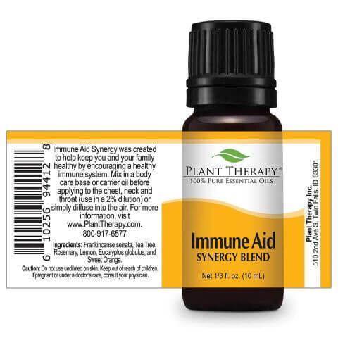 Immune Aid Essential Oil Plant Therapy 100% Pure Essential Oil