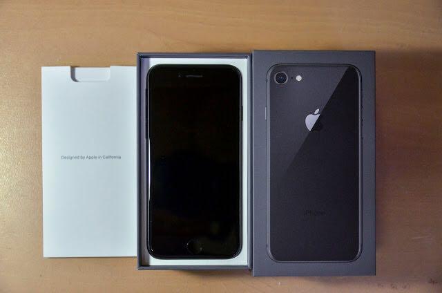 Iphone8 256Gb black fullset