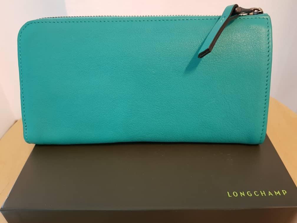 Longchamp 3D Zip around wallet