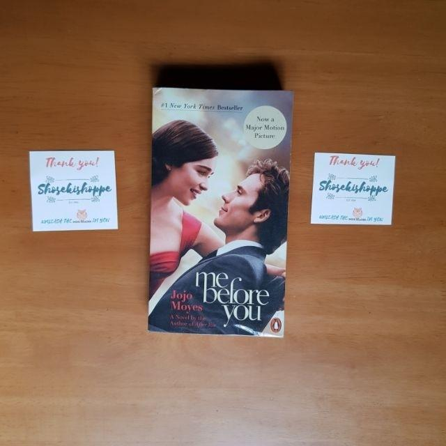 Me Before You by Jojo Moyes Soft bound Used Plastic covered  Me Before You by Jojo Moyes Soft bound Used Plastic covered  Me Before You by Jojo Moyes Soft
