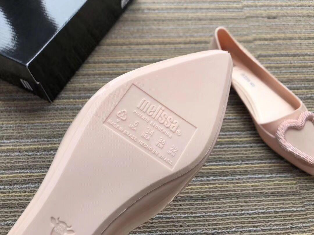 Melissa x Jason Wu 平底鞋 尖頭鞋 防水 果凍鞋 雨鞋 膠鞋 100% Authentic Real