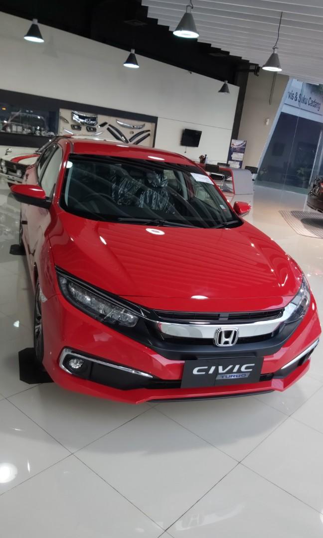 New civic sedan turbo free jasa service 4 tahun hingga 50 rb km