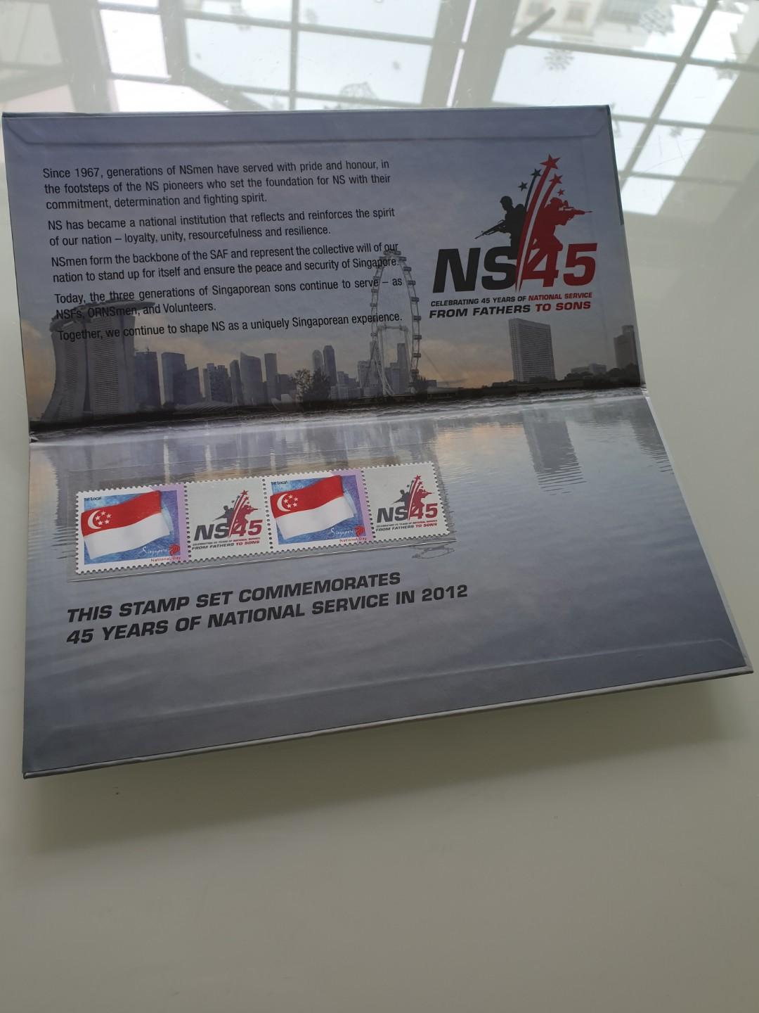NS 45 Stamp Collection Set
