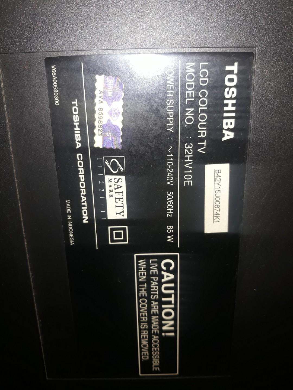 Power board Toshiba LCD TV