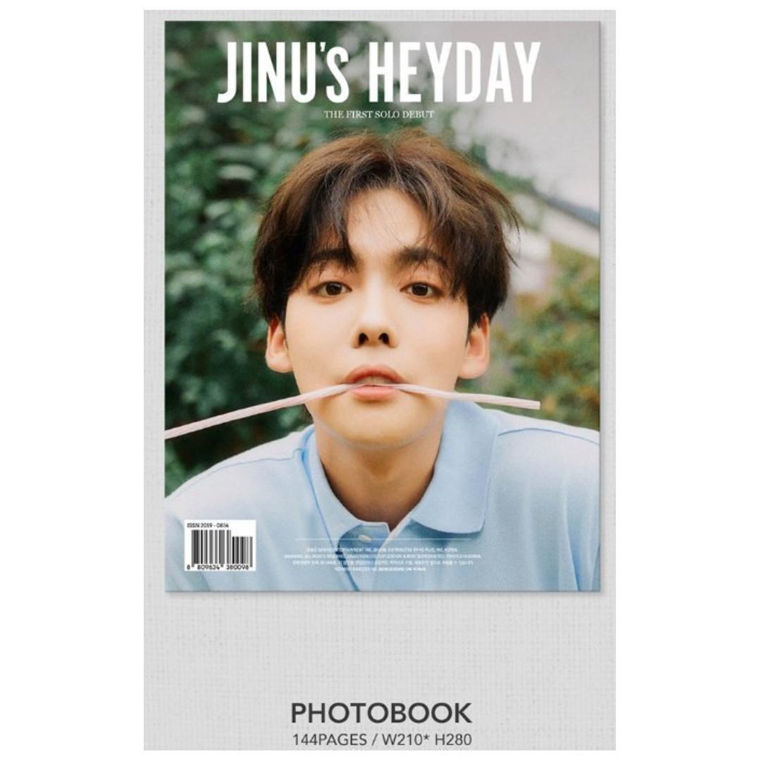🇲🇾[PREORDER GO] #WINNER #JINU 1st SINGLE ALBUM '#HEYDAY'